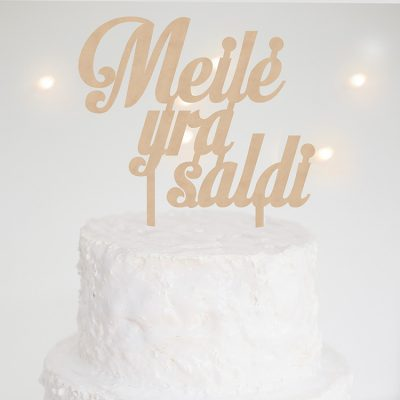 Cake Topper 003