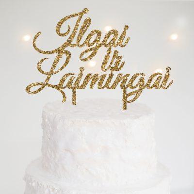 Cake Topper 020